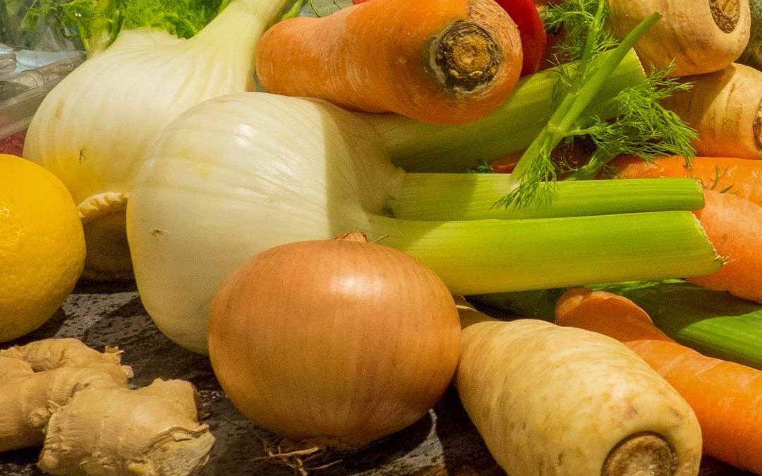 gesundes, frisches Gemüse